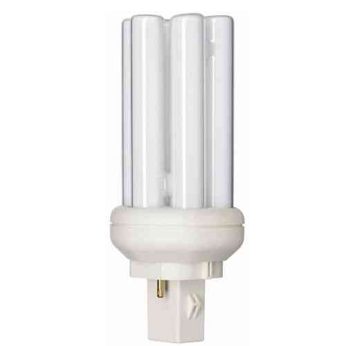 Philips Master PL-T 2 Pin 13W 827 GX24d-Sockel (Kompaktleuchtstofflampe)